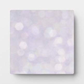 Background - Lavender Bokeh Lights Plaque