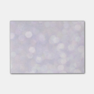 Background - Lavender Bokeh Lights Post-it Notes
