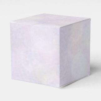 Background - Lavender Bokeh Lights Wedding Favour Box