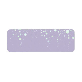 Background - Lavender Glitter Stars