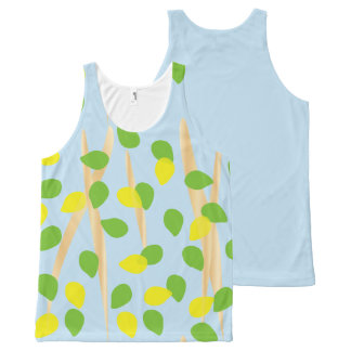 Background Melody All-Over Print Tank Top