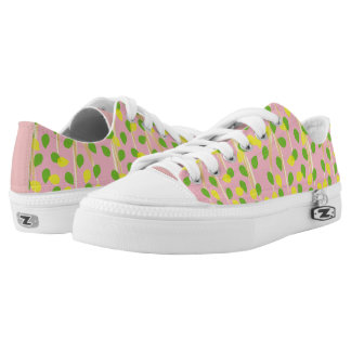 Background Melody Printed Shoes