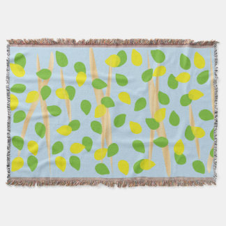 Background Melody Throw Blanket