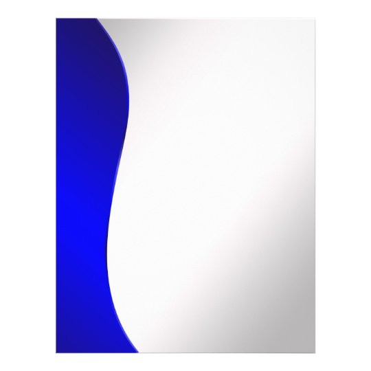 Background Navy Blue line on styled silver Flyer