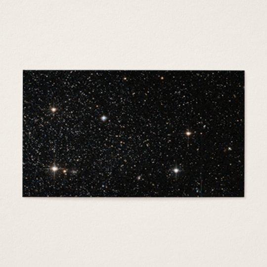 Background - Night Sky & Stars Business Card
