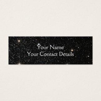 Background - Night Sky & Stars Mini Business Card