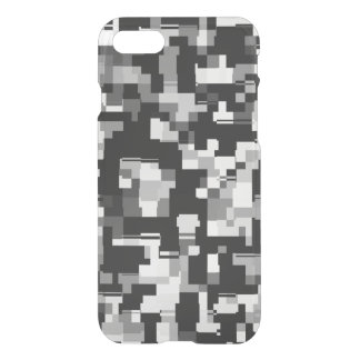 Background Noise in Black & White iPhone 7 Case