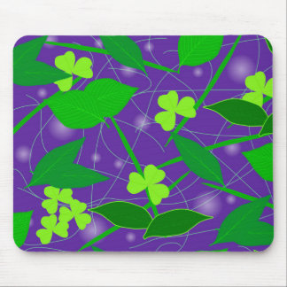 Background of leaves mouse mat
