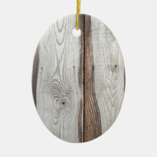 Background of wide boards ceramic oval decoration