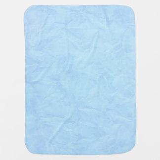 Background PAPER TEXTURE - blue Pramblanket