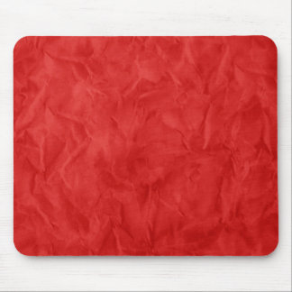 Background PAPER TEXTURE - dirty red Mouse Mat