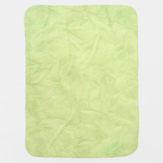 Background PAPER TEXTURE - green Swaddle Blankets