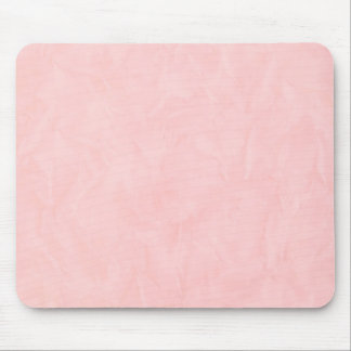 Background PAPER TEXTURE - light pink Mouse Mat