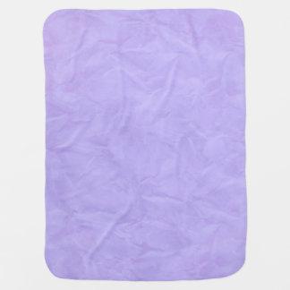Background PAPER TEXTURE - violet Buggy Blanket