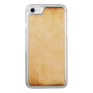 background - Parchment Paper Carved iPhone 7 Case