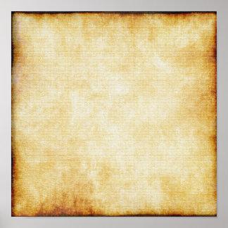Background | Parchment Paper Poster