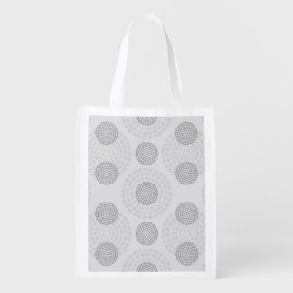 Background Pattern Reusable Grocery Bag