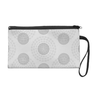 Background Pattern Wristlet Purses