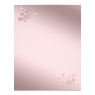 Background pearly pink Color 21.5 Cm X 28 Cm Flyer