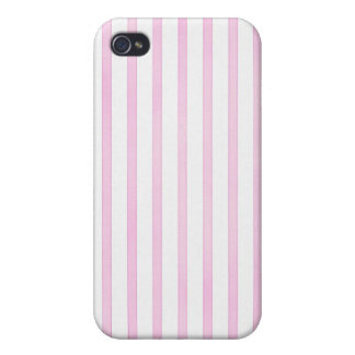 Background Pink Watercolor Stripes iPhone 4 Case