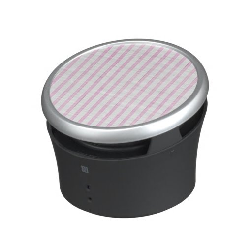 Background Pink Watercolor Stripes Bluetooth Speaker