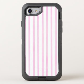 Background Pink Watercolor Stripes OtterBox Defender iPhone 8/7 Case