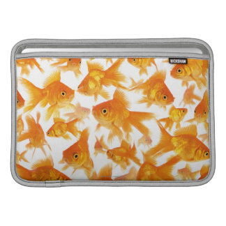 Background Showing a Large Group of Goldfish Sleeve For MacBook Air