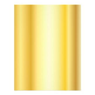 Background styled Gold Color 21.5 Cm X 28 Cm Flyer