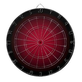 Background Template ~ Black Frame ~ Maroon Center Dartboard