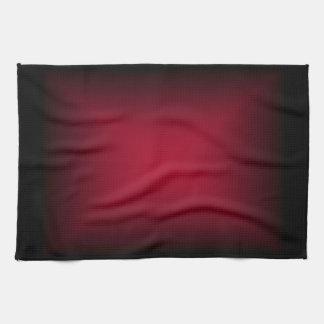 Background Template ~ Black Frame ~ Maroon Center Tea Towel