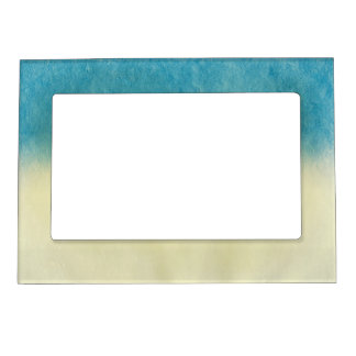 Background- Texture Watercolor Paper Frame Magnets