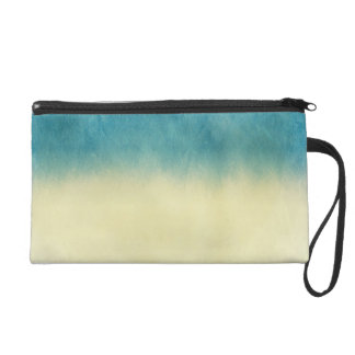 Background- Texture Watercolor Paper Wristlet Clutches