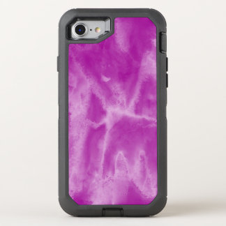 background texture watercolor purple seamless OtterBox defender iPhone 8/7 case