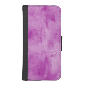 background texture watercolor seamless purple iPhone SE/5/5s wallet case