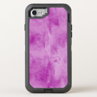 background texture watercolor seamless purple OtterBox defender iPhone 8/7 case