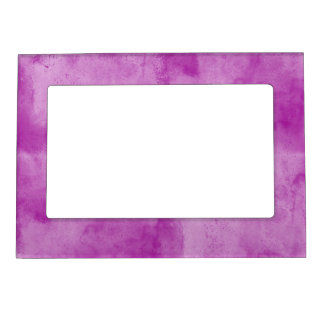 background texture watercolor seamless purple photo frame magnet