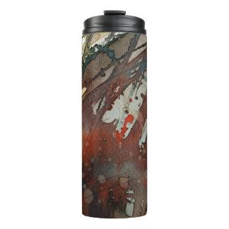background watercolor 2 thermal tumbler
