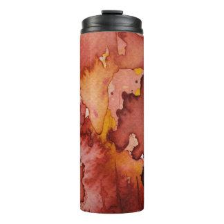 background watercolor 3 thermal tumbler