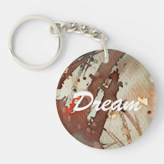 background watercolor 5 key ring