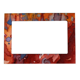 background watercolor 7 magnetic frames