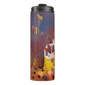 background watercolor 8 thermal tumbler