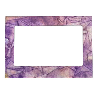 background watercolor picture frame magnet