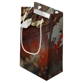 background watercolor small gift bag