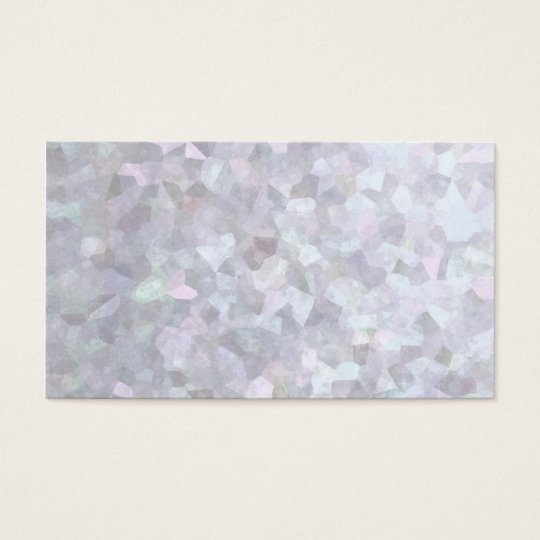 Background - White Pearl Business Card