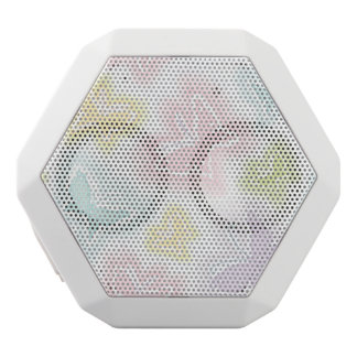 Background with butterflies in watercolor white boombot rex bluetooth speaker