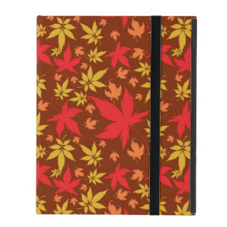 Background with colorful Autumn Leaves iPad Cover