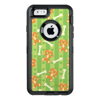 background with dogs and bones OtterBox iPhone 6/6s case