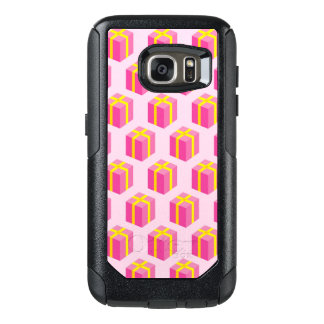 Background with gifts OtterBox samsung galaxy s7 case