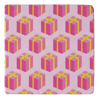 Background with gifts trivet
