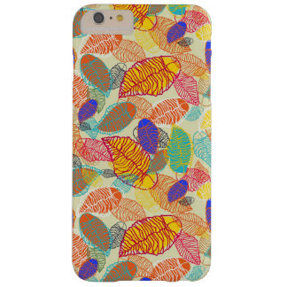 Background With Leaves 2 Barely There iPhone 6 Plus Case